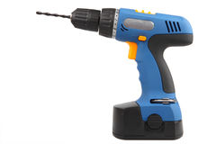 Drill screwdriver Stock Images