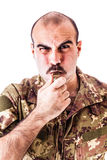 Drill Sergeant Royalty Free Stock Photo