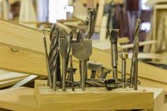 Drill set Stock Image