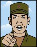 Drill Stg Duty vector. Illustration clip-art Royalty Free Stock Photo