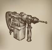 Drill. Vector Format Stock Photo