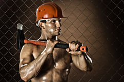 Driller Stock Image