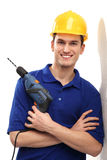Driller man Royalty Free Stock Photos