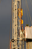 Drilling 056. A detail view of an oil drilling station royalty free stock image