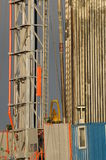 Drilling 057. A detail view at a oil drilling station Royalty Free Stock Photos