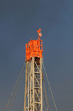 Drilling 067. A detail view of an oil drilling station royalty free stock photos