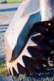 Drilling bit. Close up oil drilling bit Royalty Free Stock Photos