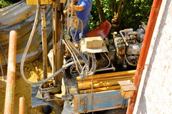 Drilling construction Stock Images