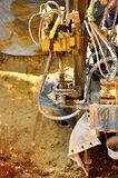 Drilling construction Stock Photo