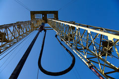 Drilling derrick Stock Photo