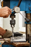 Drilling Royalty Free Stock Photography