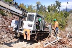 Drilling holes Stock Photo