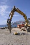 Drilling loader close view Stock Photos