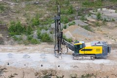 Drilling machine Royalty Free Stock Photography