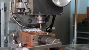 Drilling Machine, cnc machine. In action stock video footage