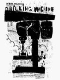 Drilling machine Stock Photography