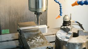 drilling machine precision απόθεμα βίντεο