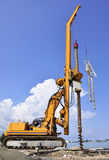 Drilling machine at work Stock Image