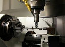 Drilling machine workpiece Stock Images