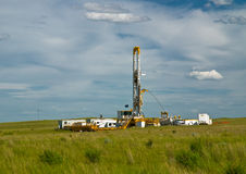 Drilling for Oil Stock Image