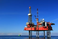 Drilling platform Stock Photo
