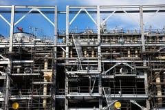Drilling Platform under Construction Royalty Free Stock Image