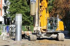 Drilling_rig imagem de stock