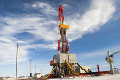 Drilling rig Royalty Free Stock Photos