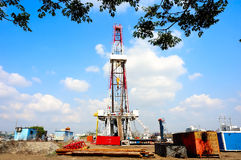 Drilling rig Royalty Free Stock Image