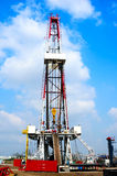 Drilling rig Royalty Free Stock Images