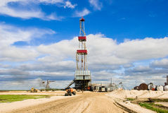 Drilling Rig Stock Image