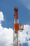 Drilling Rig. An oil drilling rig in the oil fields of Texas Royalty Free Stock Image