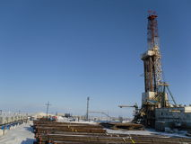 Drilling rig, BU-5000 Royalty Free Stock Images
