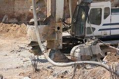 Drilling rig. Hole Digger Royalty Free Stock Image