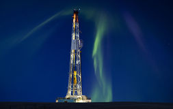 Drilling Rig Potash Mine Royalty Free Stock Images