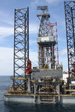 Drilling rig at the sea. Stock Image