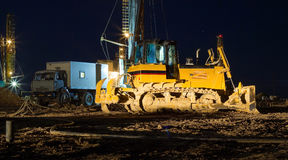 Drilling rigs. Royalty Free Stock Image