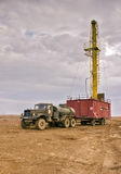 Drilling rigs Royalty Free Stock Photography