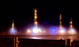 Drilling rigs Stock Photography