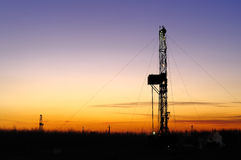 Drilling tower Stock Images