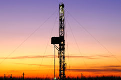 Drilling tower Stock Photography