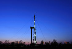 Drilling tower Royalty Free Stock Images