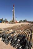 Drilling Tubulars Royalty Free Stock Photos