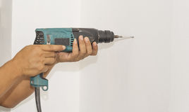 Drilling wall Stock Image