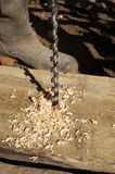 Drilling Wood Stock Images