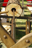 Drilling wood handicraft Royalty Free Stock Photography