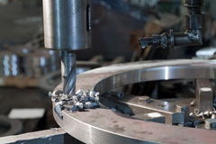 drillmetall Royaltyfri Foto