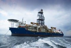 DrillShip Arkivfoton