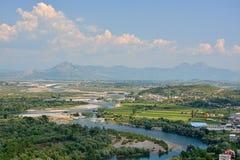 Drin河谷  免版税库存照片