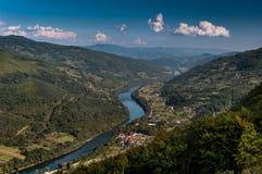 Drina河 免版税库存照片